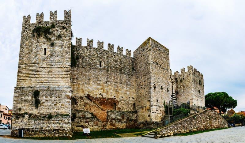 Castello dell'Imperatore在普拉托,意大利 图库摄影