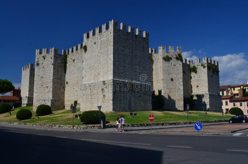 Castello dell`Imperatore Prato Italy Tuscany. Medieval Castle royalty free stock photos