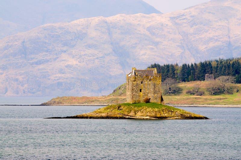 Download Castello Dell'inseguitore In Scozia Fotografia Stock - Immagine di lago, pietra: 30825788
