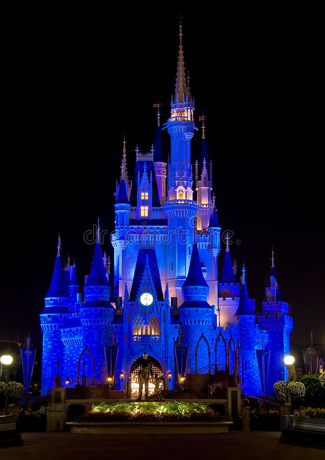 Castello della Cinderella del Disney fotografia stock libera da diritti