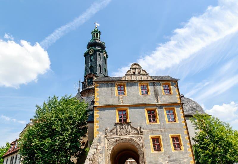Castello della citt? di Weimar in Germania immagine stock libera da diritti