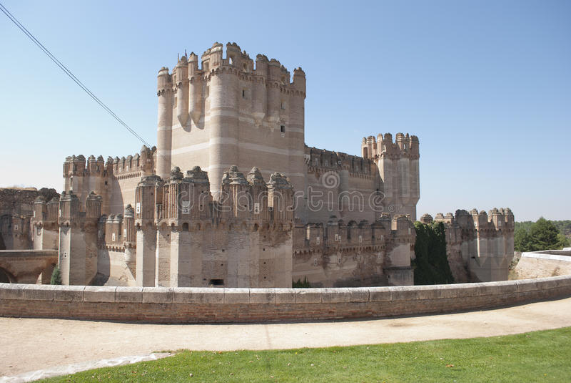 Castello della coca immagini stock