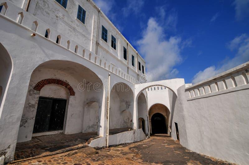 Castello della costa del capo - Ghana immagine stock libera da diritti