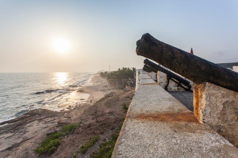 Castello della costa del capo, Ghana, Africa occidentale fotografie stock
