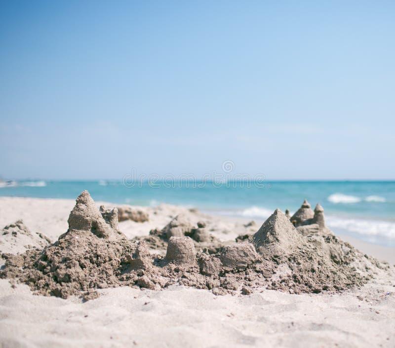 Castello della sabbia immagine stock libera da diritti