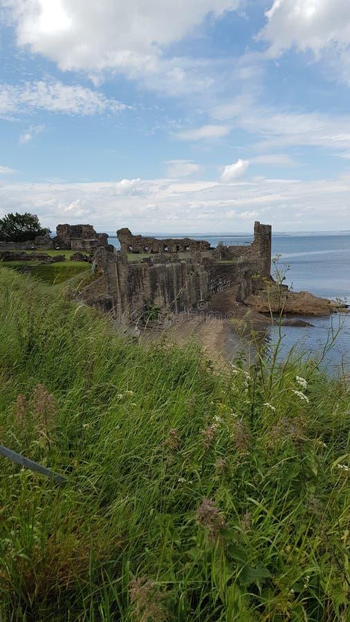 Castello della st Andrews immagine stock libera da diritti