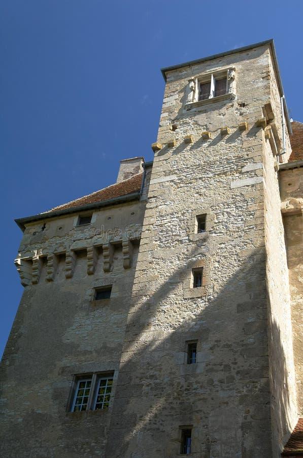 Castello delle alte mode di Menetou immagine stock libera da diritti