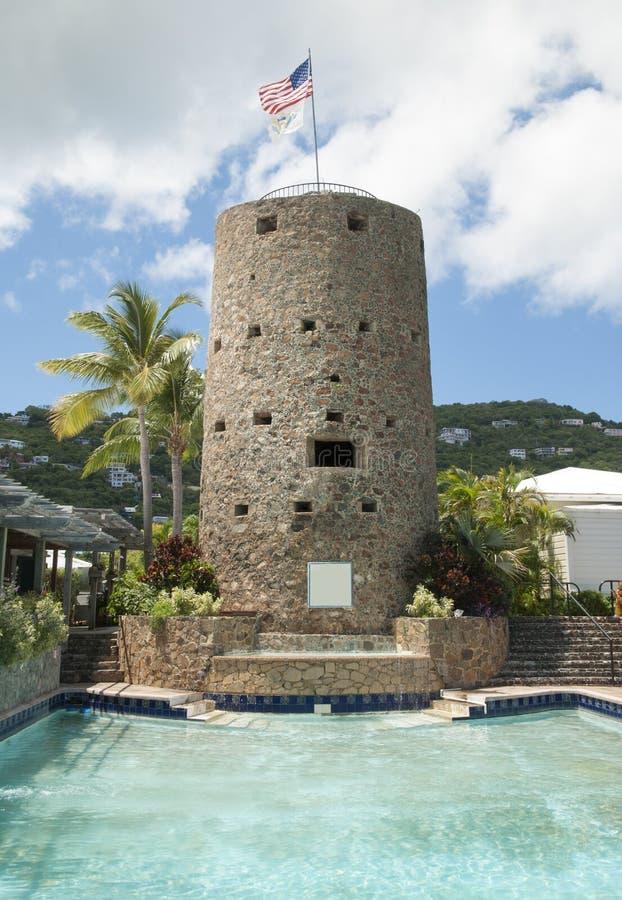 Castello delle Isole Vergini immagine stock