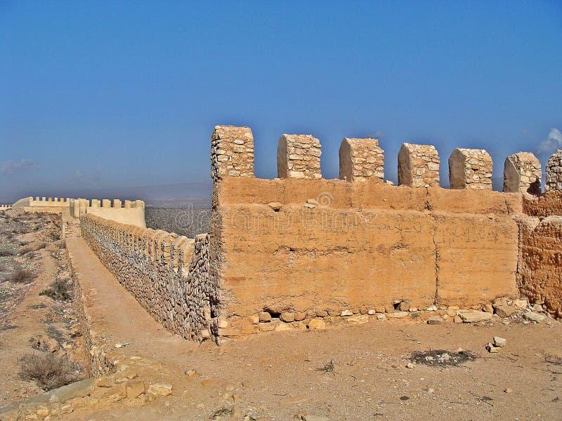 Castello di Agadir immagine stock libera da diritti