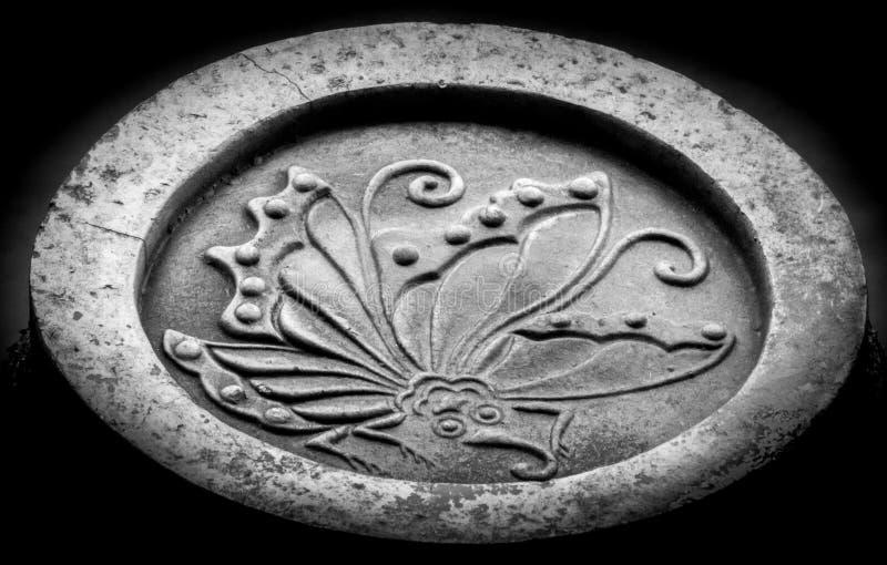 Castello di Ageha Butterfly Mon Symbol At Himeji immagini stock libere da diritti