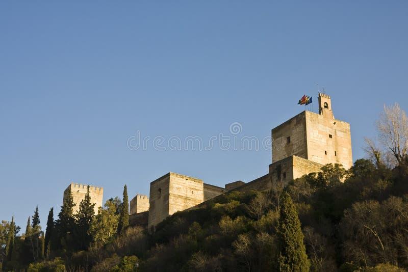 Castello di Alhambra immagine stock libera da diritti