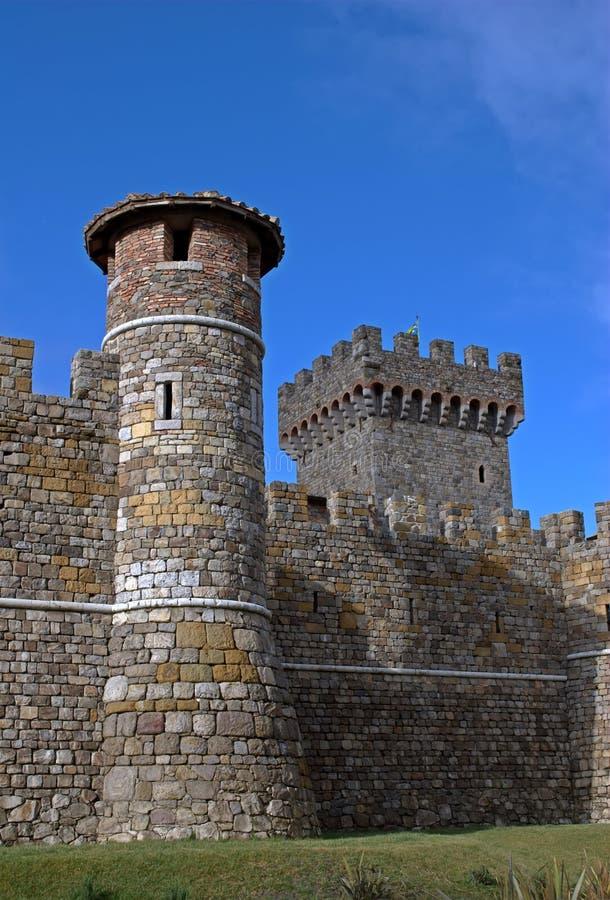 Castello Di Amarosa stock foto's