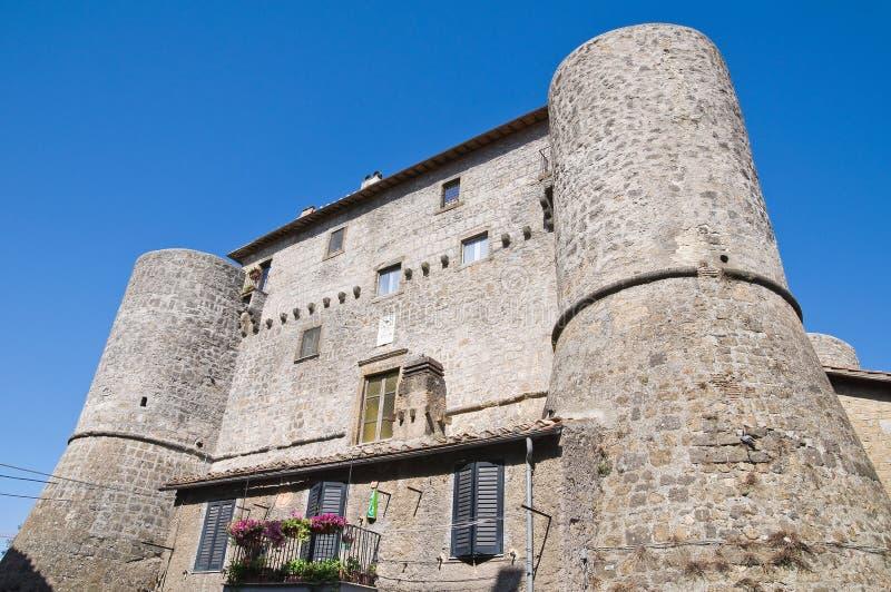 Castello di Anguillara. Ronciglione. Il Lazio. L'Italia. fotografie stock