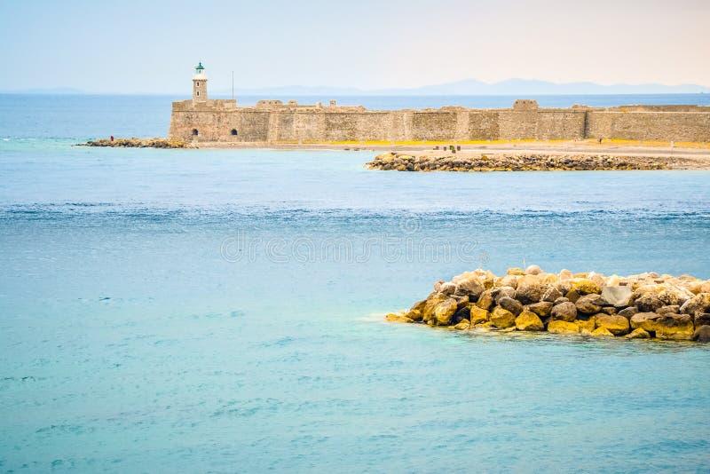 Castello di Antirio fotografia stock