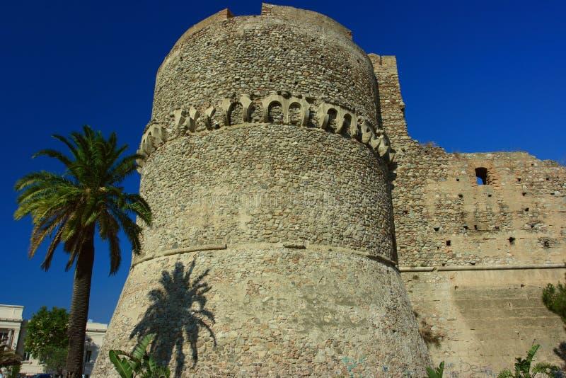 Castello di Aragonese fotografie stock libere da diritti