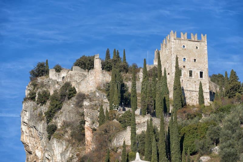 Castello di Arco immagini stock libere da diritti
