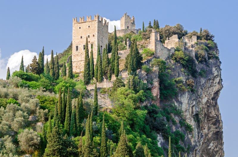 Castello di Arco - Arco城堡 库存图片