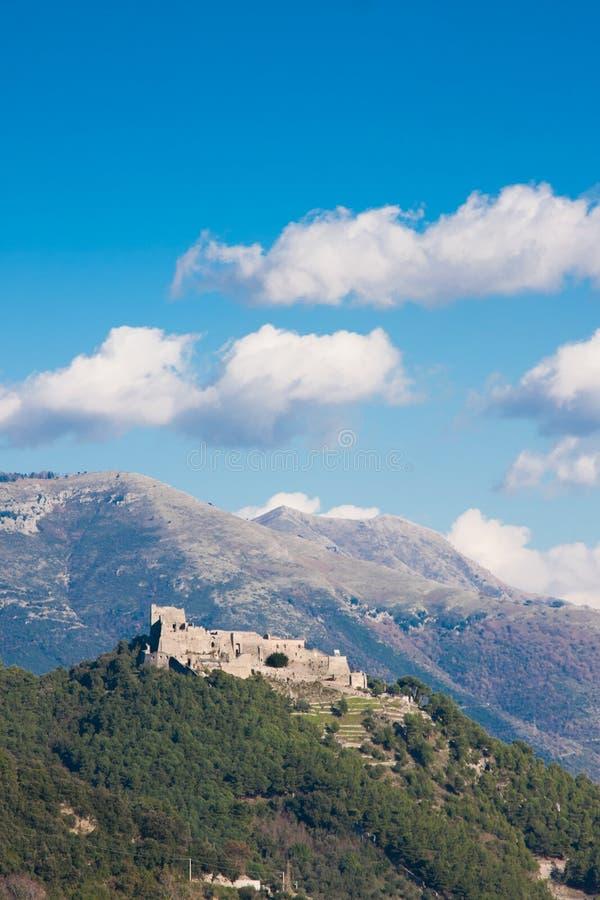 Castello di Arechi immagini stock
