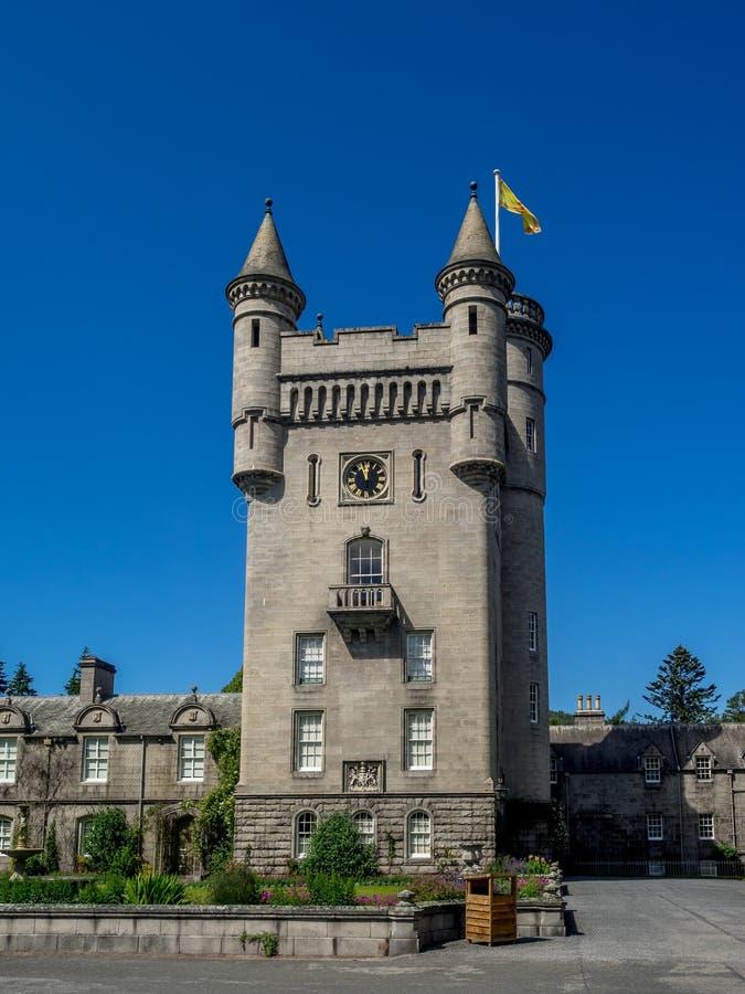 Castello di Balmoral, Scozia fotografia stock libera da diritti
