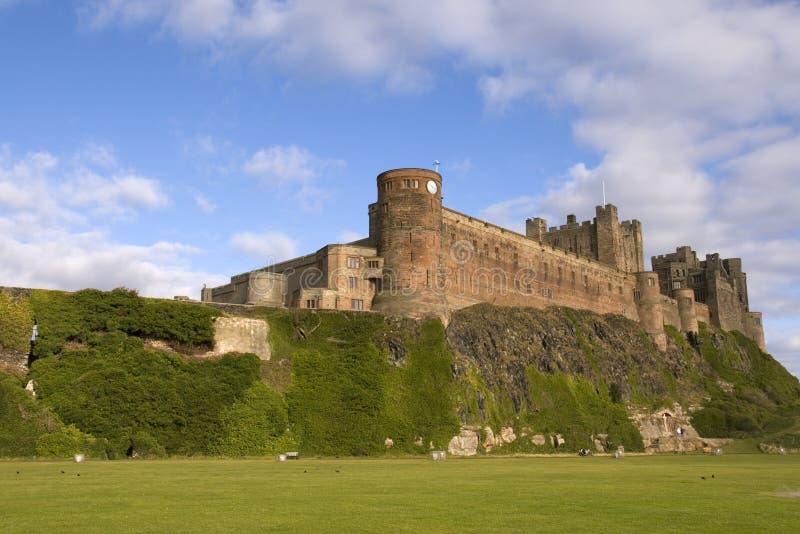 Castello di Bamburgh fotografia stock