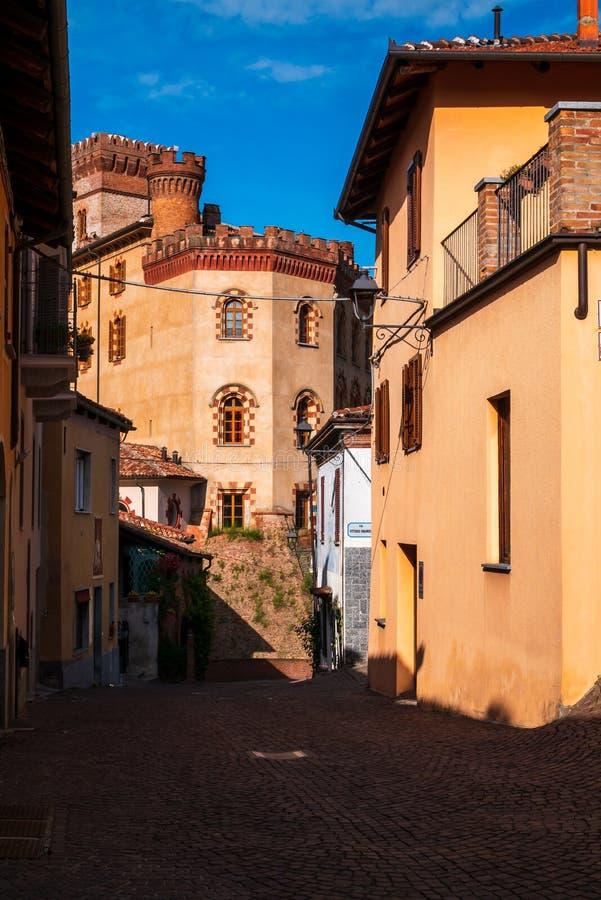 Castello di Barolo lizenzfreie stockfotografie