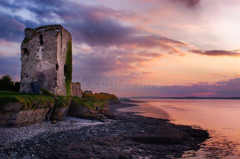 Castello di Beagh, Co limerick fotografia stock libera da diritti