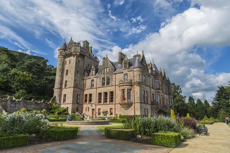 Castello di Belfast fotografie stock libere da diritti