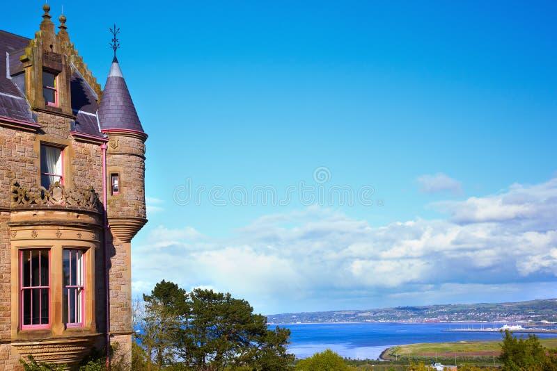 Castello di Belfast immagini stock