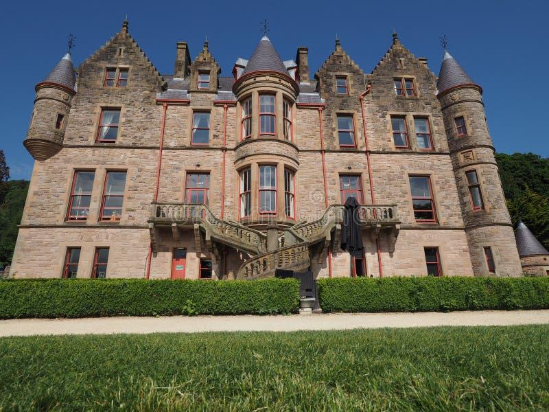 Castello di Belfast su Cavehill a Belfast fotografie stock libere da diritti