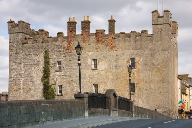 Castello di bianchi Athy Kildare l'irlanda fotografia stock libera da diritti