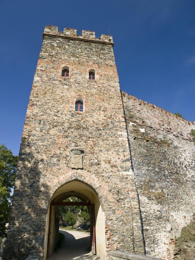 Castello di Bitov fotografia stock libera da diritti