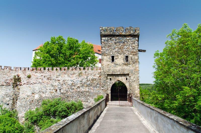Castello di Bitov fotografia stock
