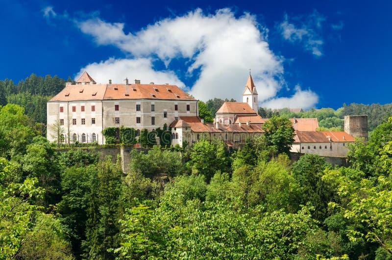Castello di Bitov, Moravia del sud, repubblica Ceca immagine stock