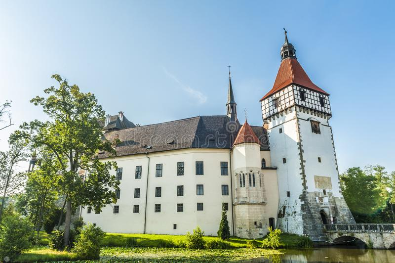 Castello di Blatna in repubblica Ceca immagine stock