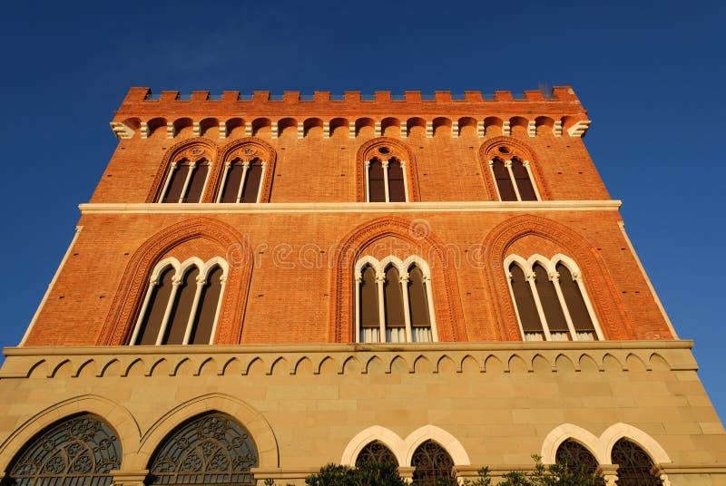 Castello di Boccadasse fotografie stock libere da diritti