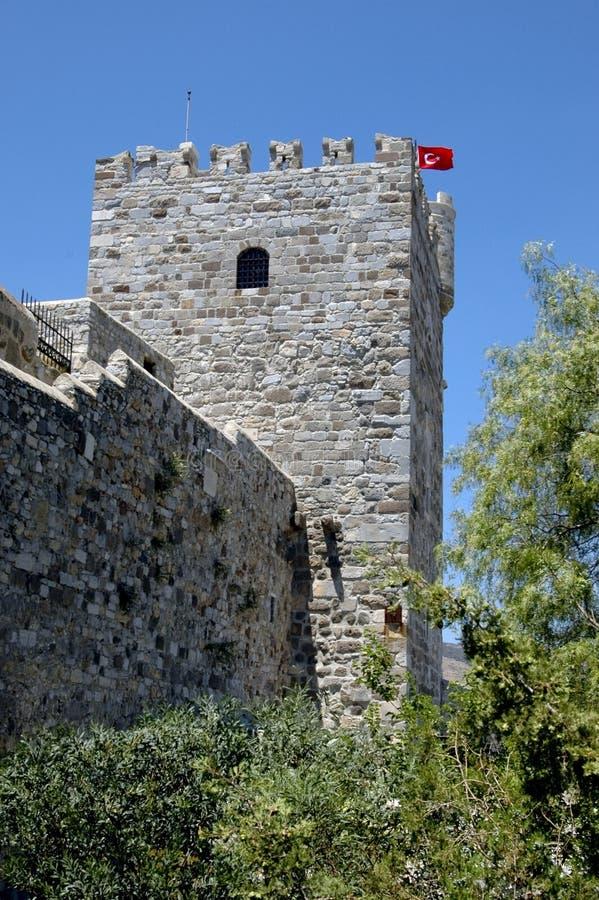 Castello di Bodrum fotografia stock libera da diritti