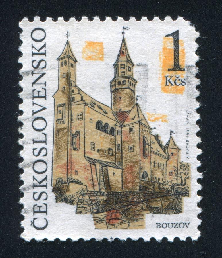 Castello di Bouzov fotografie stock