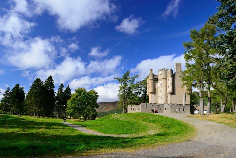 Castello di Braemar immagine stock