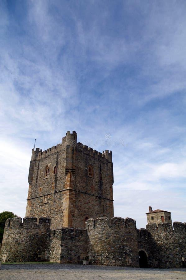 Castello di Bragança fotografie stock libere da diritti