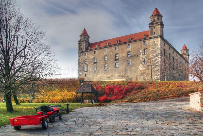 Castello di Bratislava fotografia stock libera da diritti