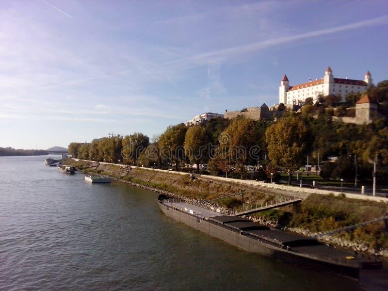 Castello di Bratislava, hrad di Bratislavsky! fotografia stock