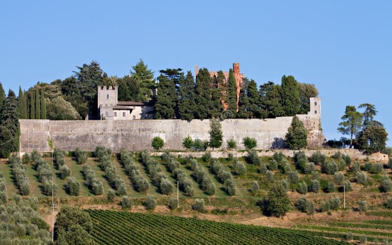 Castello di Brolio imagem de stock