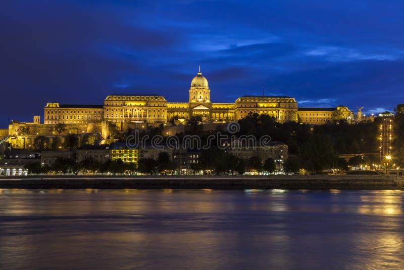 Castello di Buda a Budapest immagini stock