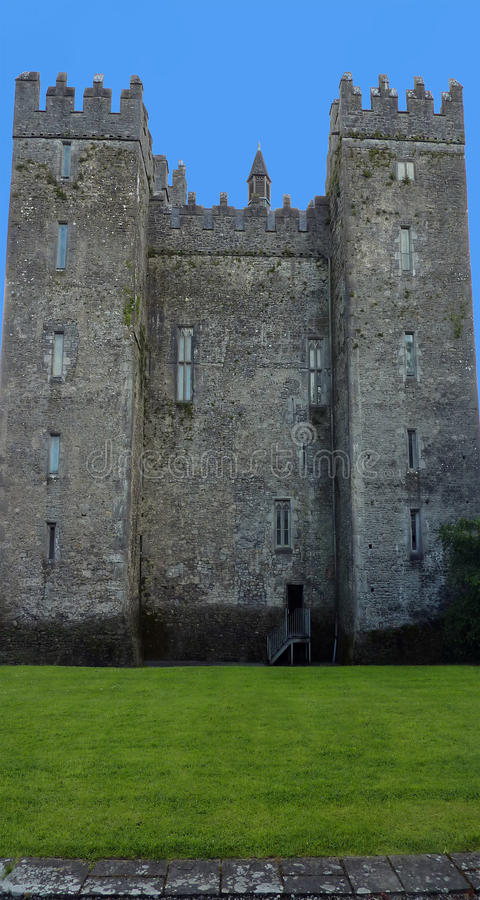 Castello di Bunratty, Irlanda fotografia stock libera da diritti