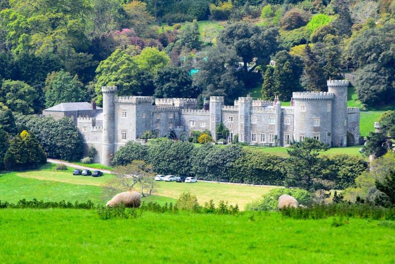 Castello di Caerhays immagini stock libere da diritti