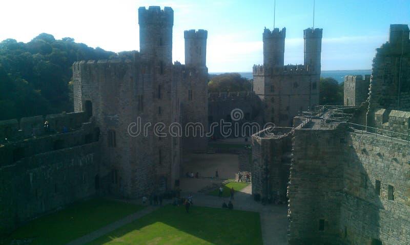 Castello di Canaervon fotografia stock