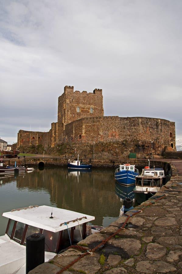 Castello di Carrickfergus, Irlanda fotografia stock libera da diritti