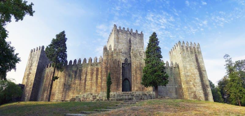 Castello di Castelo de Guimaraes fotografia stock