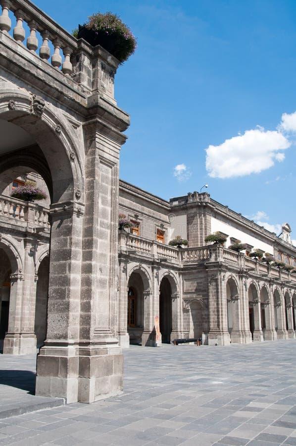 Castello di Chapultepec, Messico City fotografie stock