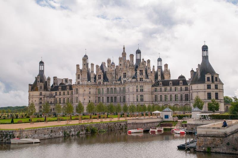 Castello di Chaumont fotografia stock